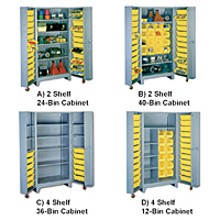 All-Welded Cabinets