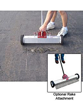 Multi-Surface Magnetic Rake on Wheels