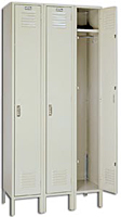 Steel Set-Up Single Tier Lockers - KD