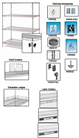 Super Erecta® Shelving System