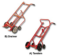 Tandem and Drainer Drum Trucks