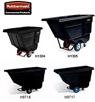 Rubbermaid® Poly Tilt Trucks