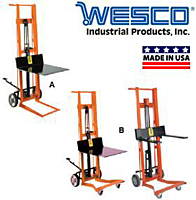 Wesco® Steel Frame Pedalifts