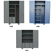 Extra Heavy Duty 14 Gauge Welded Cabinets